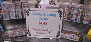 Candy Greeting Cards