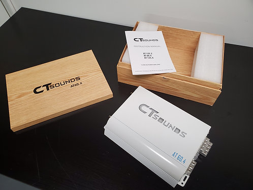 Used CT Sounds AT60.4 Amplifier (with shipping in USA)