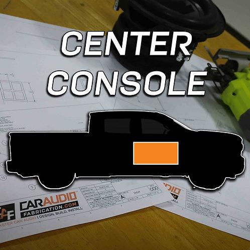 Center Console Subwoofer Blueprint Design