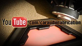 Car Audio Fabrication YouTube