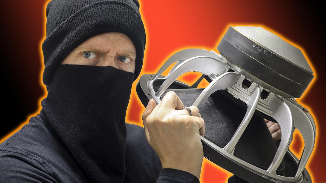 How do you deter theft?