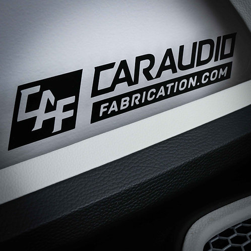 """CAF - Decal Large 9"""" x 2"""""""