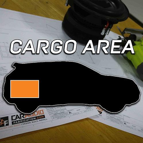 Cargo Area Subwoofer Blueprint Design