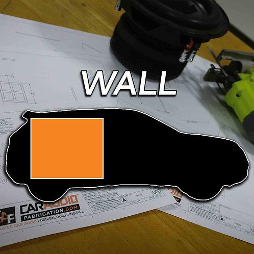 Wall Subwoofer Blueprint Design