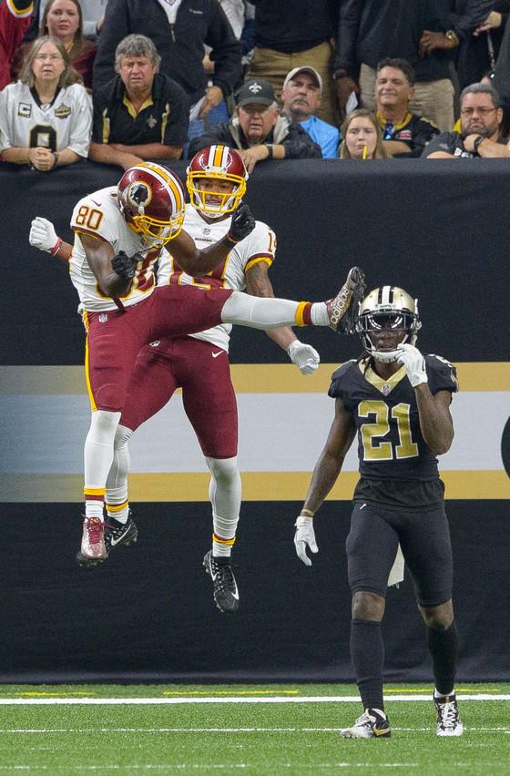 Saints' miracle win over Redskins spoils return of ex-Tulane star Ryan Grant