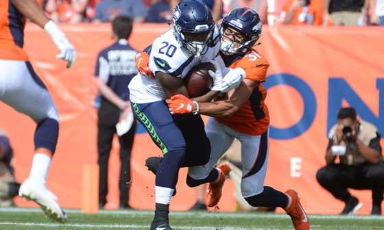 Running back Rashaad Penny now 'stronger and faster than he's been'