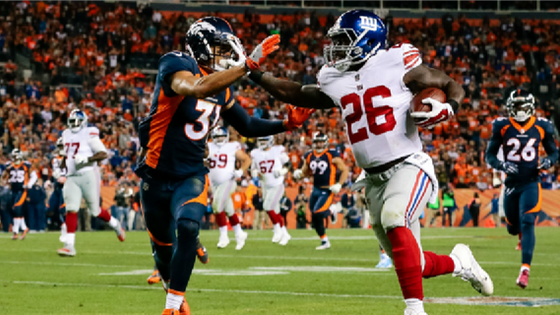 Report: Giants could look to re-sign Darkwa before free agency
