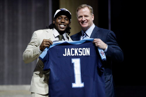 Adoree' Jackson gives back to the place that helped get him to the NFL