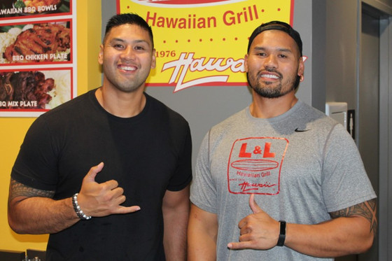 Amano brothers traded football for Hawaiian BBQ, and found success