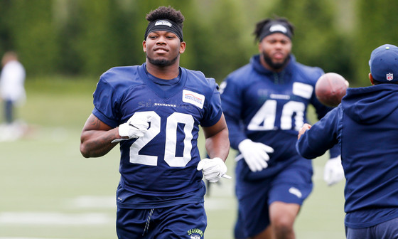 Pete Carroll praises Rashaad Penny's pass protection