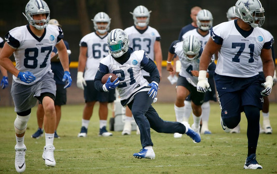 Ezekiel Elliott on Todd Gurley contract, larger workload; 'I'm ready for whatever they throw