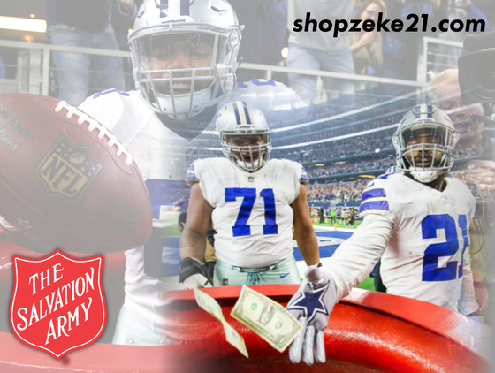 Ezekiel Elliott's $21 TD donation leads to charity partnership