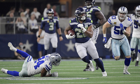 Seahawk running back Rashaad Penny says 'I want to be better than who I was last year'