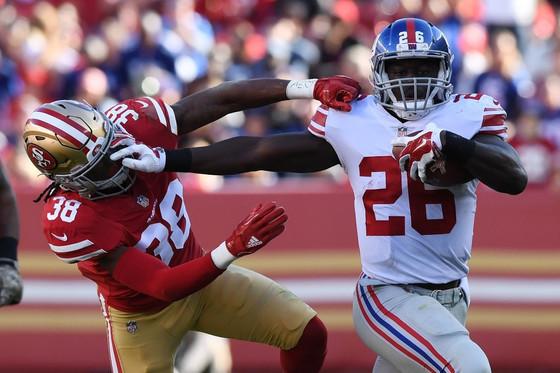 Breakout season has Giants RB Orleans Darkwa set to cash in