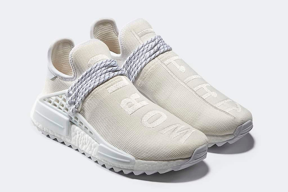 best loved 4f9d1 187a6 adidas Human Race NMD Cream White
