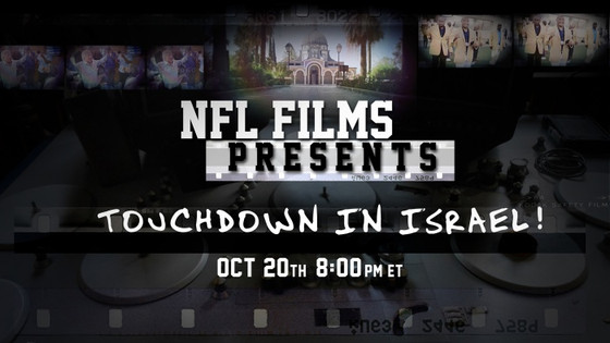 NFL Films joins Hall of Famers on inspiring trip to Israel