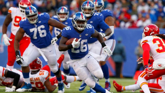 Orleans Darkwa making most of opportunity with Giants