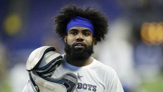 Ezekiel Elliott shares amazing moment with young fan right after awful Cowboys loss