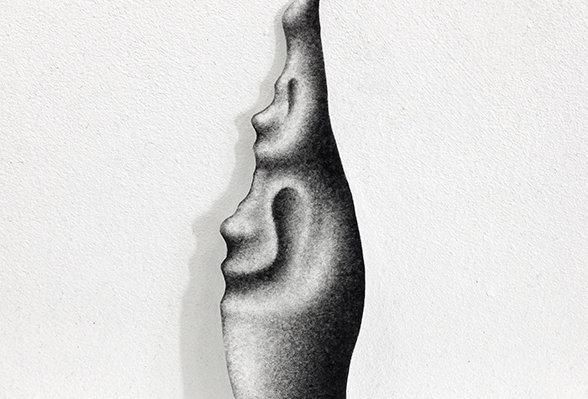 Chloé Poizat, lambeaux (série), 2019