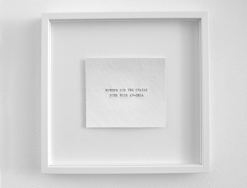 Jean-Baptiste Caron, Pièces à vivre #4, 2020