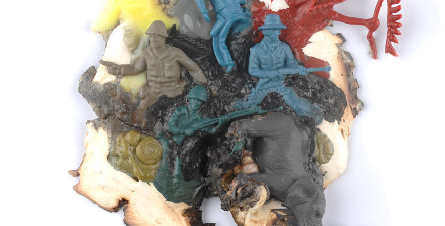 Géraud Soulhiol, Éléphant, série Natures Mortes, 2010