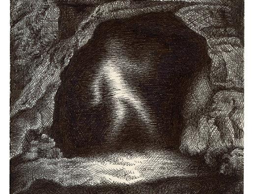 Chloé Poizat, sans titre (apparition dans la grotte), 2013