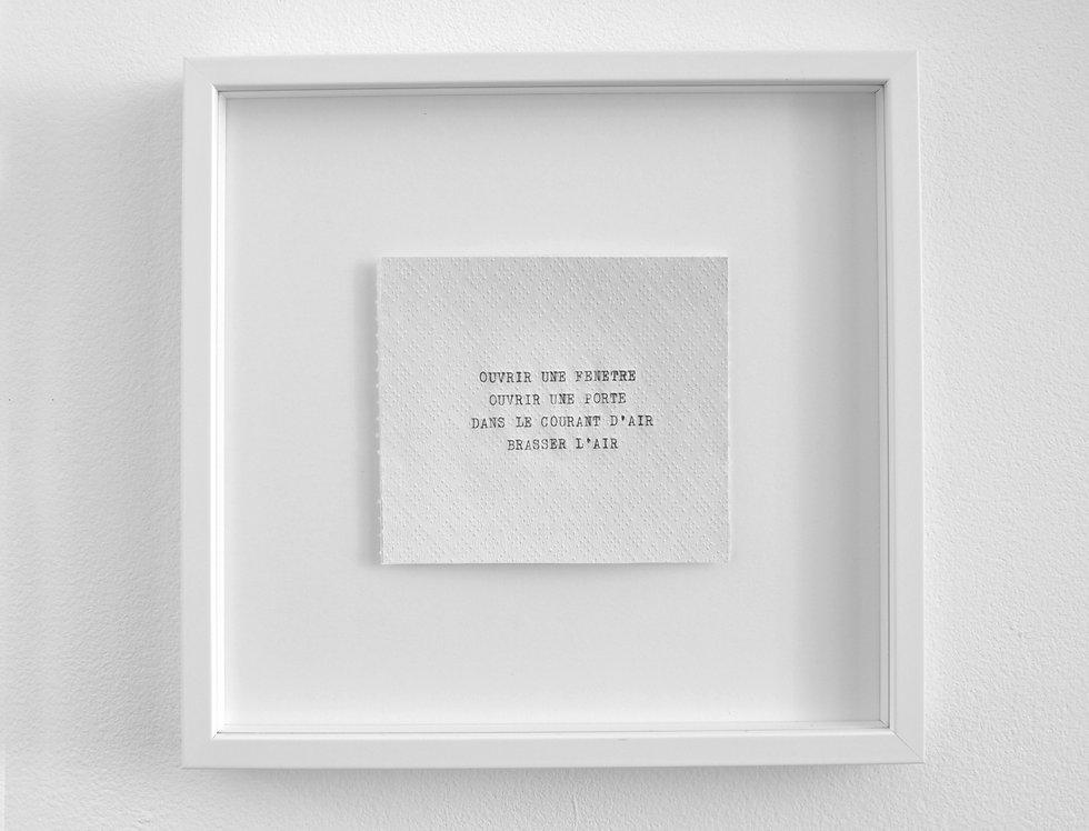 Jean-Baptiste Caron, Pièces à vivre #1, 2020