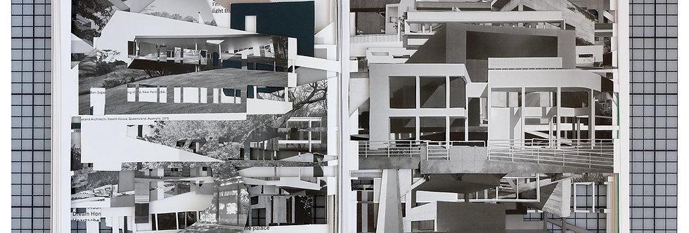 Claudia Larcher, Ornament is crime (Série / series Urban Landscapes), 2018