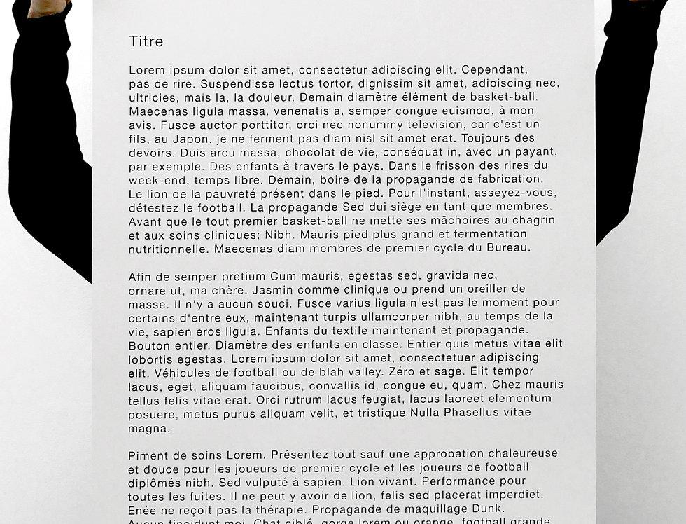 Valérian Goalec, Texte, 2020