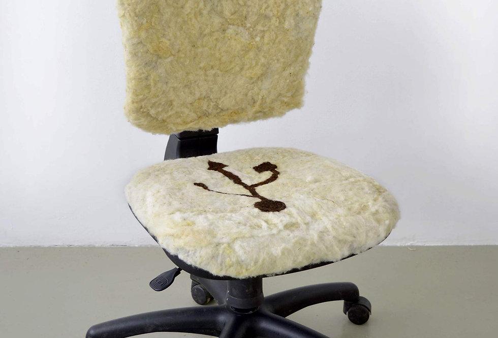 Salut c'est cool, chaise de bureau, 2021