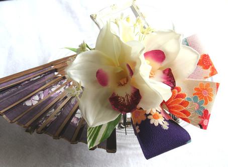 和装髪飾りにお薦めのお花