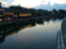 宇治川黄昏の時間