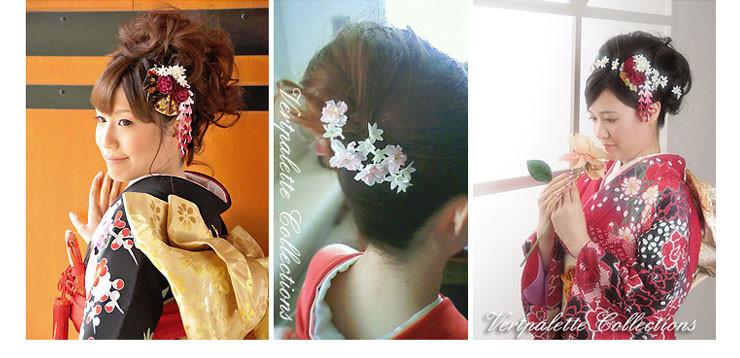 和装用髪飾り
