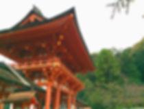 京都上賀茂神社の朱色がきれい