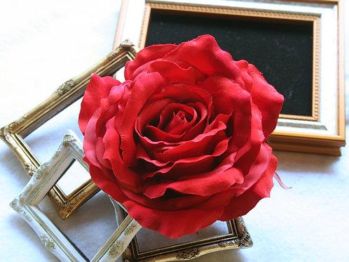 HA062:バラ一輪のみの髪飾り