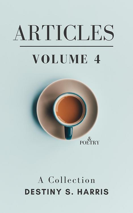 Articles & Poetry: Volume 4