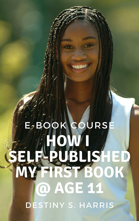 Course: How I Self-Published My First Book @ Age 11