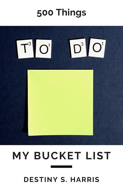 500 Things: My Bucket List