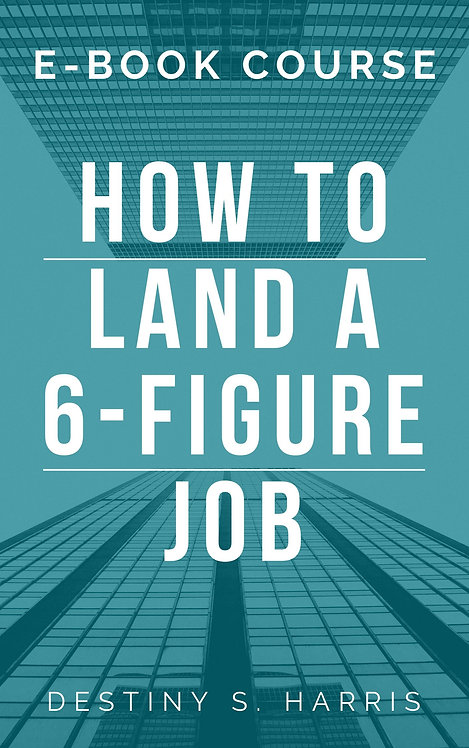 Course: How to Land A 6 Figure Job