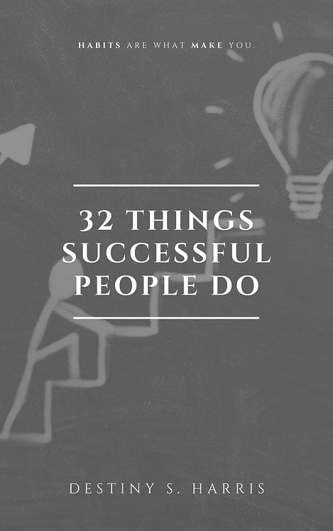 32 Things Successful People Do