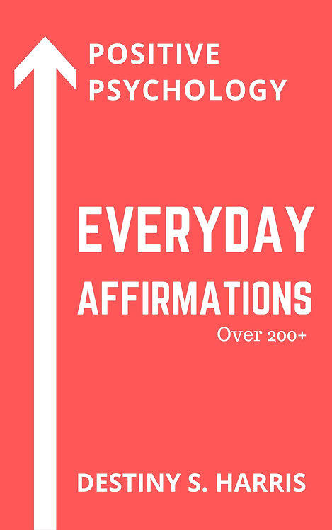 Everyday Affirmations: Positive Psychology (Coral Reef Edition)
