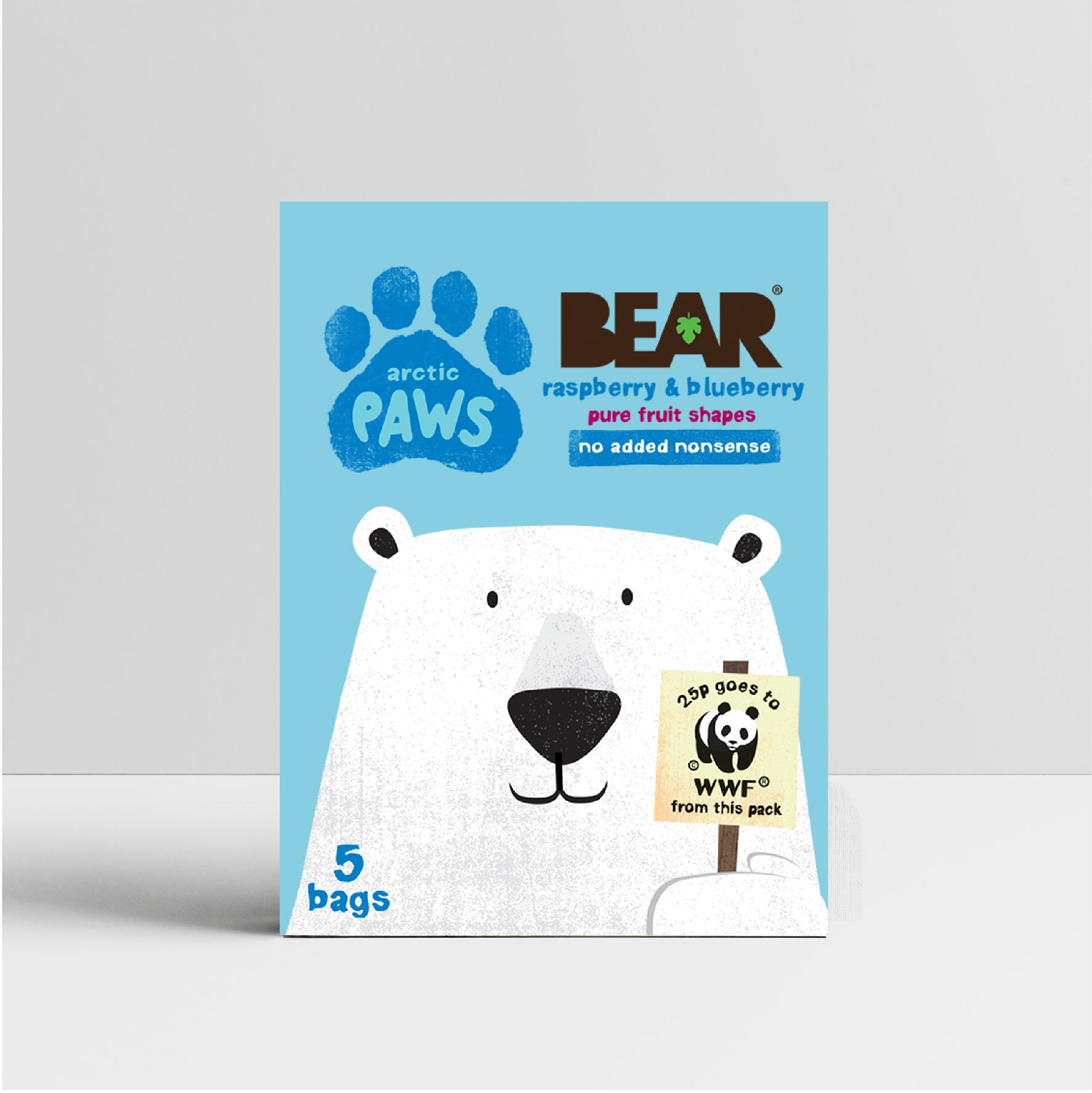BEAR Paws x WWF Campaign