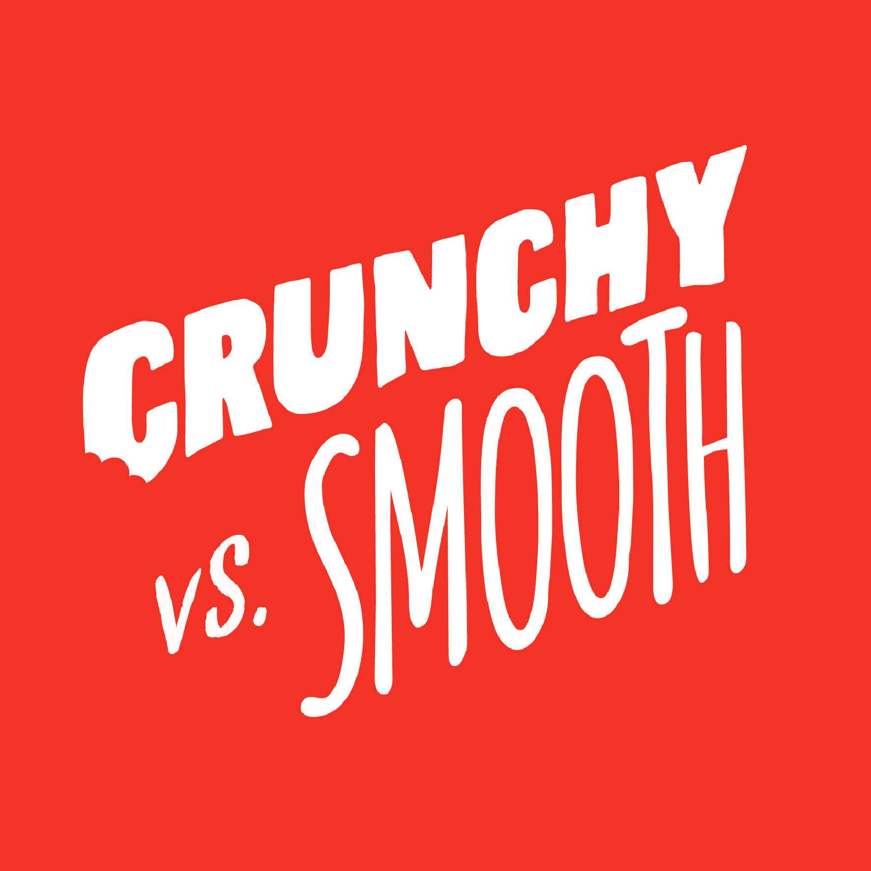 Pip & Nut Crunchy vs Smooth Campaign