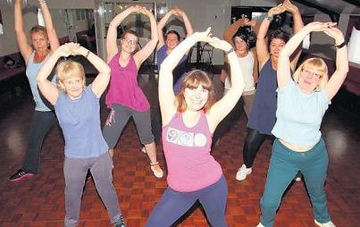 Zumba classes in Southampton