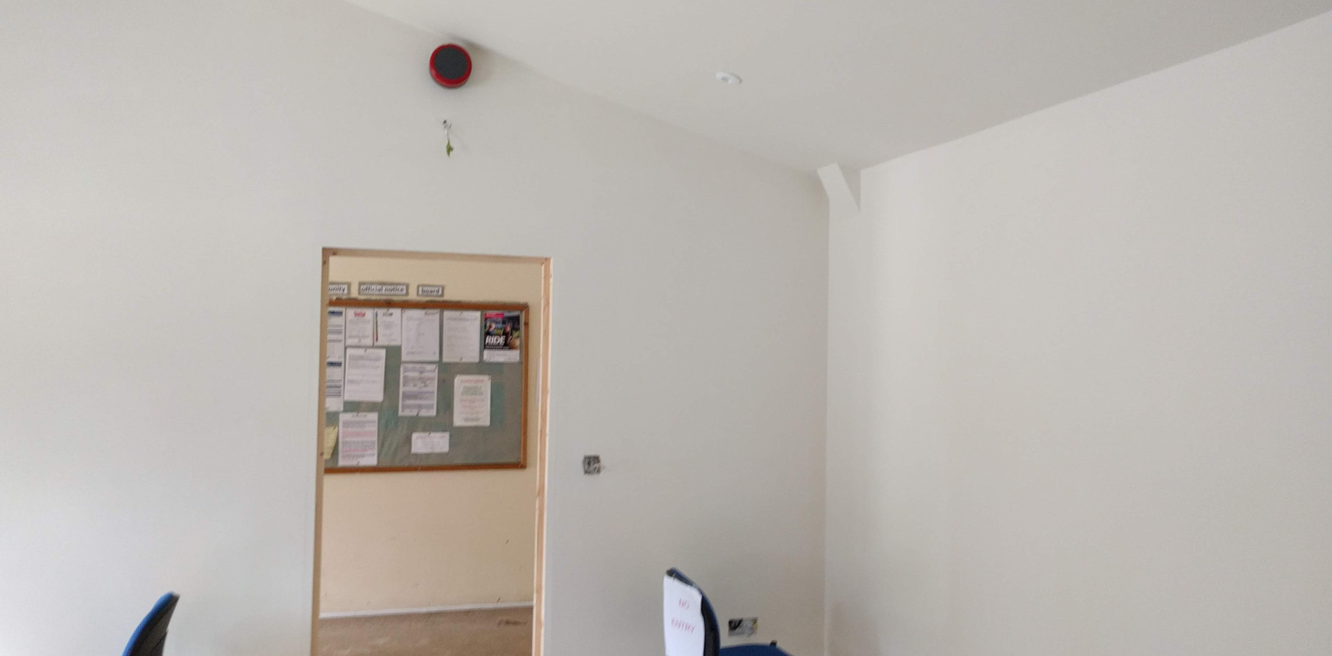 electrics going in
