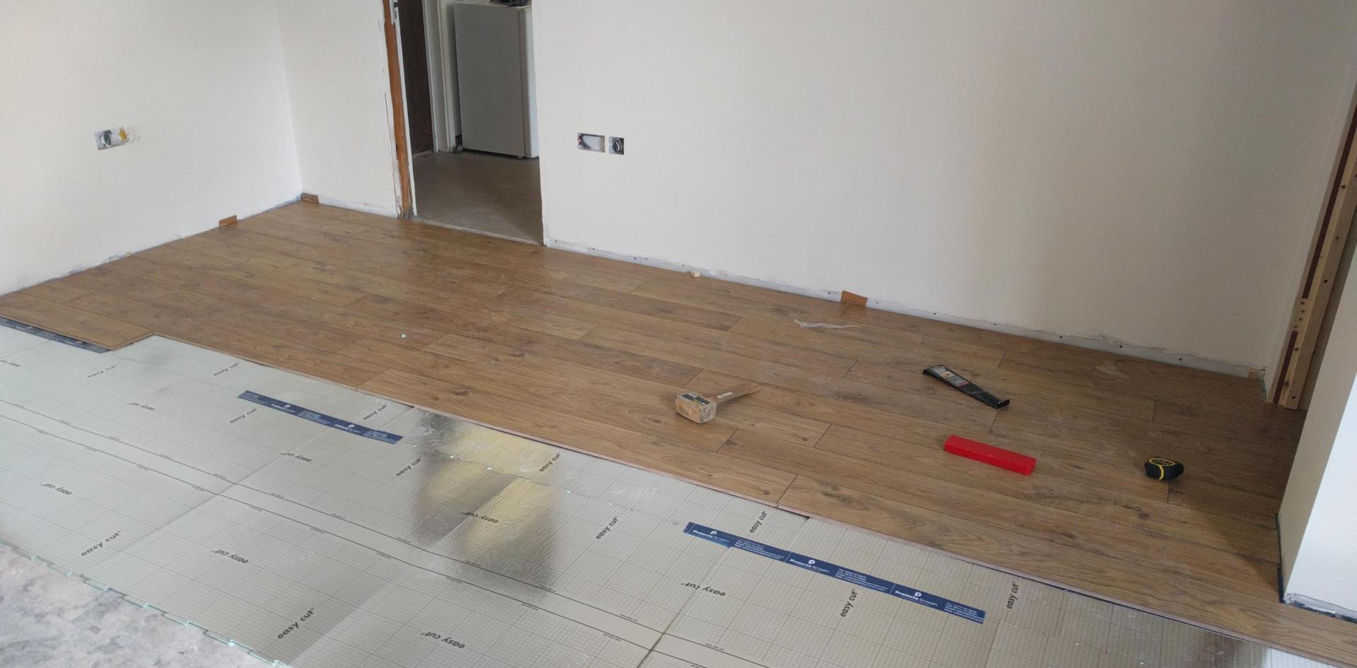 Floor going down!