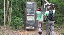 Sinalização de trilhas ecológicas