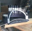 Restauro de maquete - Reator Nuclear Angra 1