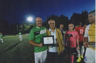 10 settembre 2019 Centro sportivo Cavalieri di Colombo in contro benefico tra i Campioni d