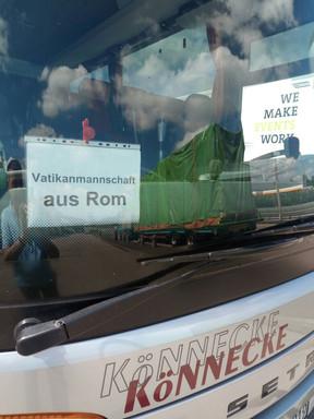 A 9  17 giugno 2017 Wittenberg il nostro mezzo di trasporto.jpg
